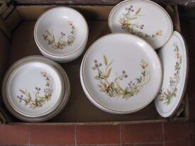 'Harvest' Marks & Spencer stoneware plates & bowls