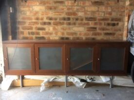 Large wooden sideboard