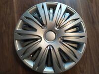 "Wheel trims 16"" plastic covers set of 4"