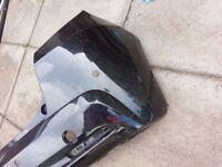 2011 HONDA JAZZ REAR BUMPER IN BLACK