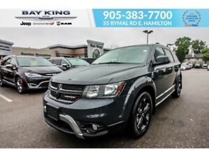 2018 Dodge Journey CROSSROAD AWD, GPS NAV, SUNROOF, REMOTE START