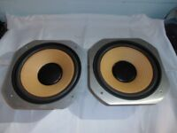 """JVC SK 700 II speakers BASS DRIVERS 10"""" 250 mm like new."""