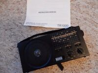 Vintage/Retro BHS TR1000 radio from 80's. In working order.