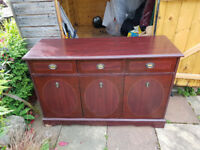 Modern Red Sideboard FREE