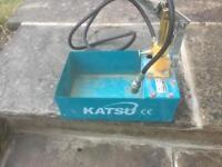 Pressure heating tester