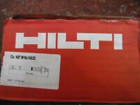 ASSORTED SIZES SAFETY ANCHOR BOLTS GENUINE HILTI
