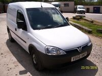 Vauxhall Combo van white in colour in very good condition.