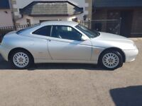 2L lusso. Silver. Low mileage. Very good condition