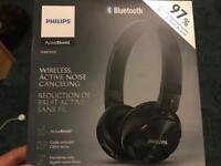 Philips Bluetooth On Ear ActivShield Headphones