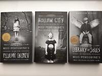 Miss Peregrine's Home For Peculiar Children Book Collection