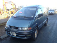 TOYOTA LUCIDA 2.2 TD, 7 SEATER, 1994' M ' REG, 12 MONTHS MOT, 1 OWNER SINCE IMPORTED,