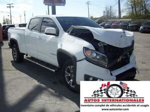 2015 Chevrolet Colorado Z71 CREWCAB 4X4 V6 3.6 CAMERA DE RECUL M