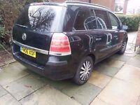 Vauxhall Zafira Deisel 7 Seater Cheap Car, part ex and swaps Consid look at are other mpv,s & 7 str