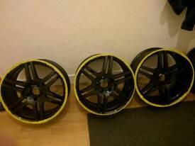 """18"""" original mercedes alloy wheels"""