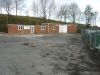 Commercial Yard, Secure Compound, Workshop and Offices
