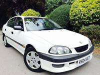 **LAST OWNER 14 YEARS**TOYOTA AVENSIS 1.8 GS + FULLY SERVICED + MOT//SUNROOF//AC + EXCELLENT CONDITN