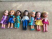 Disney Animator Doll Bundle - including Jasmine, Cinderella, Rapunzel, Elsa etc.