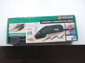 new parkside electric scraper