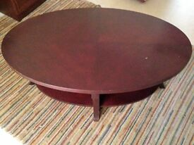 Good quality coffee brown table