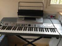 Keyboard. Technics SX KN 6500. Manual, pedal, power, box, adapter incl. Stand NOT incl.