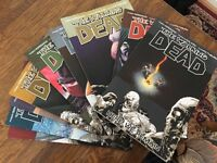 Walking Dead comics. Trades 1-9