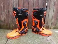 Fox comp 8 motocross boots