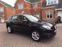 2012 NISSAN QASHQAI 1.6, LOW MILEAGE, MOT 12 MONTHS, ONE PREVIOUS OWNER, CRUISE, BLUETOOTH