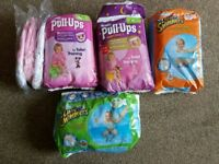 Huggies nappies, toilet training pull ups & swim pants