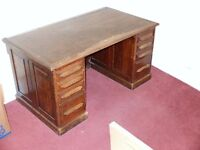 Former doctor's desk, early 20th cent. US made