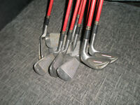 """Full Set Graphite shafted """"TOUR 858S"""" 3 to SW (9 clubs)"""
