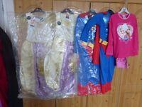 Fancy dress girls/boys 3-4, 5-6 and 7-8 (BRAND NEW) Rapunzel, frozen, superman