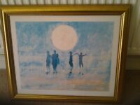"""Large Print """"Moonlight & Movement"""" by John Sanders. Collection Kirkby in Ashfield NG17"""