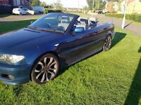 BMW 3 SERIES M SPORT CONVERTIBLE ELECTRIC ROOF LEATHER INTERIOR LOW MILES (MAY PX P/X PART EXCHANGE)