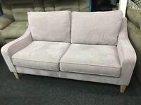 New/Ex Display Dfs Fabric 3 Seater Sofa