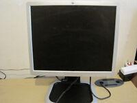 HP 19 inch LCD monitor