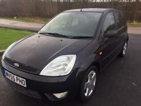 2005 55 Ford Fiesta 1.3 Zetec Climate Control Low Miles For Year 5 Door Nice Drive Manual Poss PX