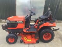 Kubota BX2200 Compact Tractor Mower 4WD With Cutting Deck 2005 Model