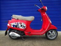 2005 PIAGGIO VESPA LX 125 RETRO SCOOTER , HPI CLEAR , LONG MOT RUNS AND RIDES FINE