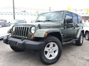 2007 Jeep Wrangler Unlimited Sahara / 4 DR// LOADED / 140744 KMS