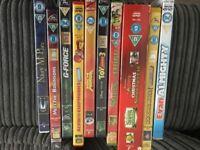 Childrens DVD incl Shrek, Nanny McPhee, High school musical etc