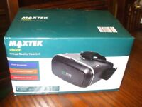 3D VIRTUAL REALITY HEADSET NEW BOXED