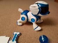 Teksta robotic puppy robo dog