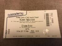Helloween Pumpkins United Ticket London 14th November