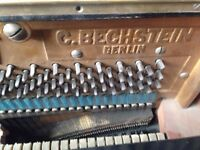 FREE Bechstein upright Piano