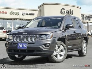 2016 Jeep Compass NORTH | 4X4 | HANDS FREE | HEATED SEATS | Cambridge Kitchener Area image 1