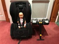 Recaro Child Car Seat Group 1 with Isofix for Ford Vauxhall Audi Renault Peugeot