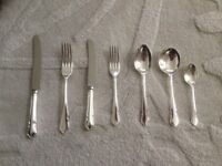 Arthur Price Silver plated canteen of cutlery