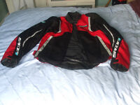 two piece motorbike suit
