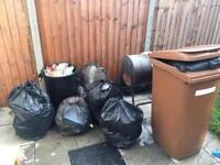 Waste & garden cleaning. Garden maintenance professionals skill handyman