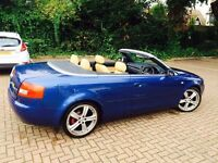 !!!! MUST LOOK !!! GREAT RUNNER AUDI A4 CONVERTIBLE !!!! LOW MILAGE PX WELCOME !!